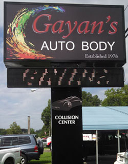 Gayans Auto Body Maryland