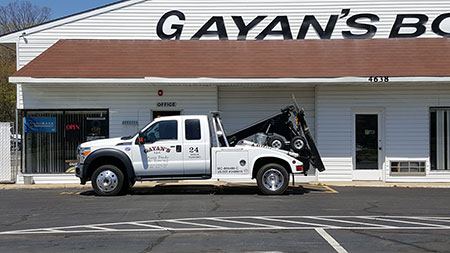 Gayans Auto Body Towing